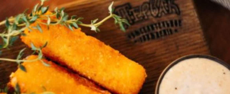 Fried Sticks with Suluguni Cheese